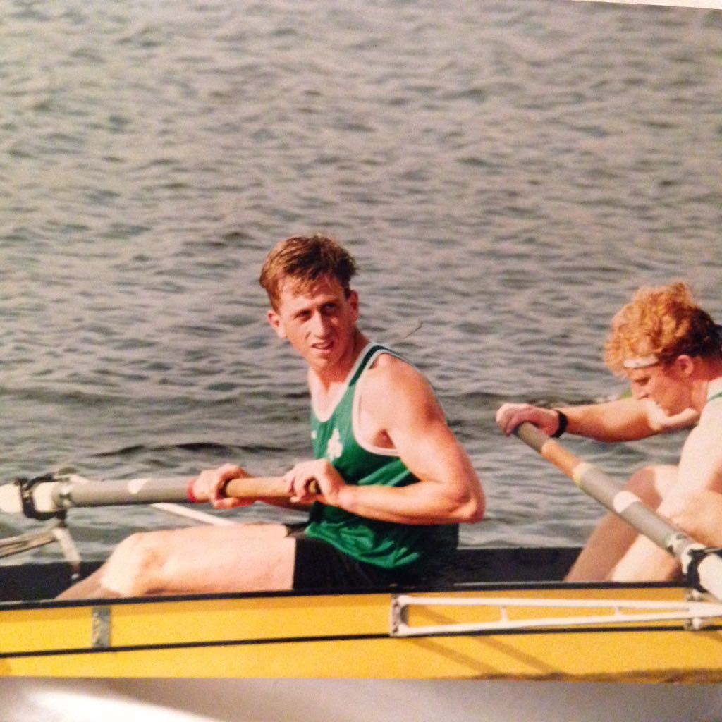 Rowing for Ireland - won Gold in Home International Champions